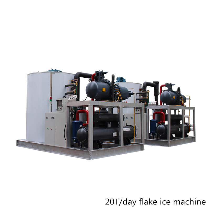 20T flake ice machine